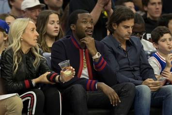 Meek Mill Expected To Attend Sixers vs Heat Game 5 Tonight