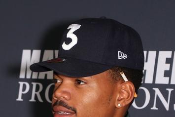 "Watch Chance The Rapper Freestyle Over Future's ""Mask Off"" With King Louie"