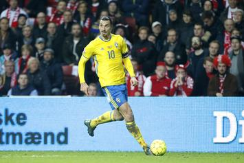 Zlatan Ibrahimovic Will Not Represent Sweden At World Cup