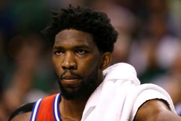 "Joel Embiid On Game 1 Loss: ""I Thought I Was Shitty"""