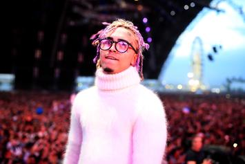Lil Pump Almost Comes To Blows During Mall Visit