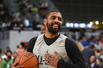 """Kyrie Irving Debuts Special Edition """"Wheaties"""" Nike Kyrie 4"""