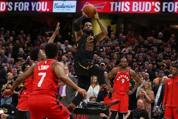 Lebron James Sinks Impossible Shot To Win Game 3, Players React