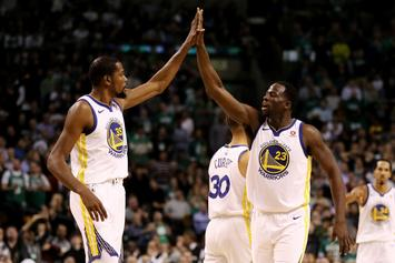 Draymond Green Sent 4AM Text To Durant, Sparking Game 4 Outburst