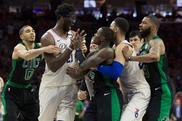 "Joel Embiid On Scuffle With Terry Rozier: ""Too Bad He's So Short"""