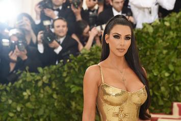 Kim Kardashian Shows Off Unreal Curves In Met Gala Versace Gown