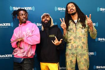 Flatbush Zombies Talk Shroom Trips & Mental Health On The Breakfast Club