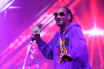 Snoop Dogg Helps Set A World Record For The World's Largest Gin & Juice