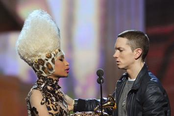 "Eminem Formally Shoots His Shot With Nicki Minaj: ""Text Me Later, We'll Talk"""