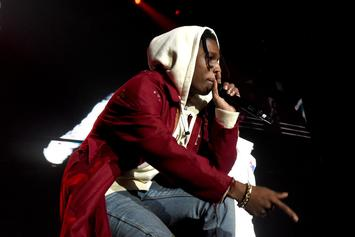 "A$AP Rocky Brings Out Skepta In London For ""Praise The Lord"" Performance"