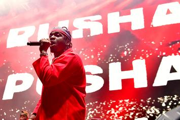 Pusha T Claims Drake Is Offering $100,000 For Dirt On Him