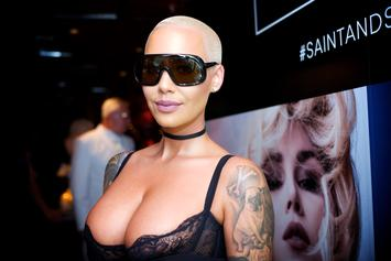 Amber Rose Announces 2018 SlutWalk By Posing Topless