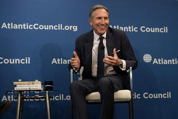 Howard Schultz Steps Down As Starbucks Chairman, May Run For Public Office