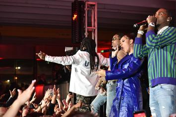 "Cardi B, Migos, Meek Mill, Lil Yachty, & More Show Out For QC Head ""Pee's"" Birthday"