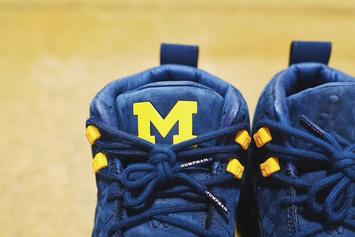 "Air Jordan 12 ""Michigan"" Release Details Announced"