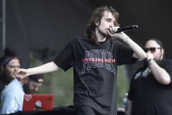 """Pouya Set To Combat His """"Extreme Anxiety & Fear Of Flying"""" With European Tour"""