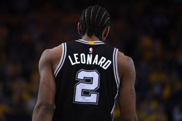 Cleveland Cavs Made Calls To Spurs About Kawhi Leonard: Report