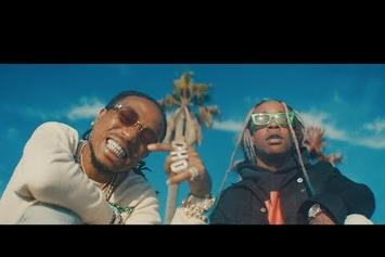 "Ty Dolla $ign, Gucci Mane & Quavo Team Up For The ""Pineapple"" Video"