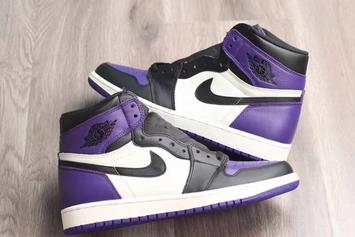 """Air Jordan 1 """"Court Purple"""" To Release This Year"""