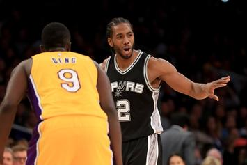 "Lakers' Reps Say San Antonio ""Shut The Door"" On Kawhi Leonard Trade Talks"