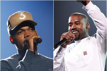 Kanye West & Chance The Rapper Might Be Planning To Drop An Album