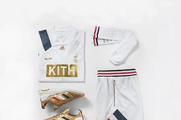 "KITH x Adidas Soccer Unveil ""Chapter 3: Golden Goal"" Collection"