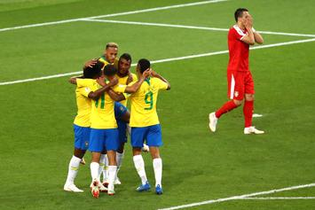 Brazil Top Group E, Will Meet Mexico In World Cup Knockout Stage