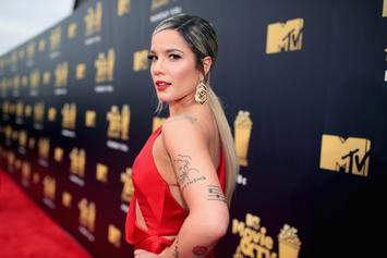Halsey Comes Through With New Tattoo On Her Face