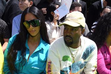 Kanye West, Kim Kardashian & Kids Relax At Luxurious Cabin In Idaho