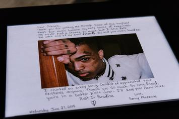 XXXTENTACION's Mother Filled His Tomb With Fan-Made Tributes