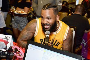 The Game Lines His Studio With Roses While Working On New Album