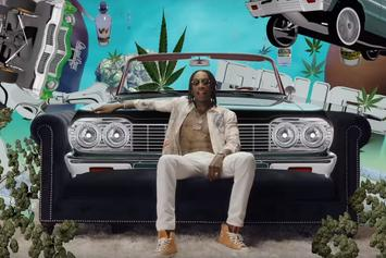 "Wiz Khalifa & Problem Are Tripping Balls In ""Gin & Drugs"" Visuals"