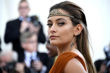 Paris Jackson Goes Topless To Promote New Shoe Campaign