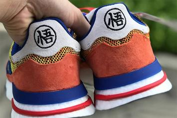 "Dragon Ball Z x Adidas ZX 500 RM ""Son Goku"" Images Surface"