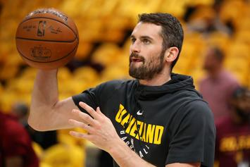 Kevin Love Inks $120 Million Extension With Cleveland Cavs