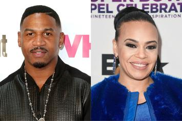 Faith Evans' New Tattoo Reflects Lopsided Commitment To Stevie J