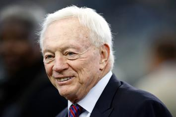 """Jerry Jones: Cowboys Will Stand For Anthem, Trump's Stance Is """"Problematic"""""""