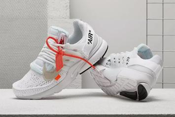 Off-White x Nike Air Presto Releasing In White This Week