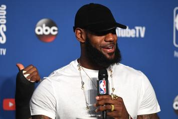 "LeBron James On Decision To Join Lakers: ""I Love The Challenge"""