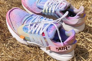 John Mayer Shows Off Custom Off-White x Nike Air Presto
