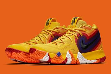 "Nike Releasing ""Uncle Drew"" Kyrie 4 Inspired By Movie Poster"