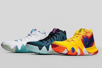 "Nike Introduces Kyrie 4 ""Decades Pack"" + Release Info"