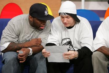50 Cent Has Been Plotting Some New Music With Eminem