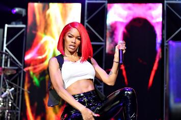 Teyana Taylor Loses Her Wig But Keeps Her Cool: Video