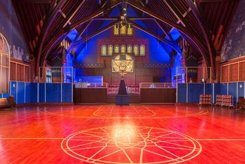 Nike Turns Chicago's Church Of Epiphany Into Pop-Up Basketball Facility