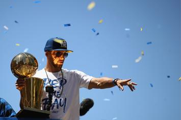 Steph Curry Says He Wants To Remain With Golden State For The Rest Of His Career