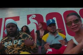 """Chance The Rapper & Reeseyman Have Good Old Fashioned Fun In """"What's The Hook"""" Video"""