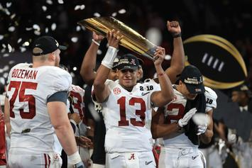 AP Top-25 College Football Poll Revealed: Alabama, Clemson At The Top