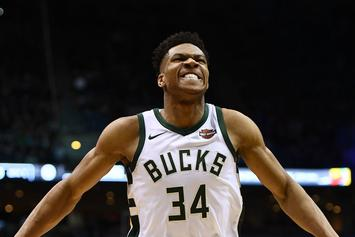 Giannis Antetokounmpo's Nike Greek Freak 1 Sample Image Unveiled