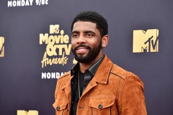 "Kyrie Irving Named ""Little Mountain"" At Sioux Naming Ceremony"